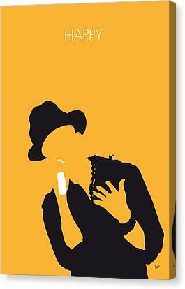 No034 My Pharrell Williams Minimal Music Poster Canvas Print by Chungkong Art