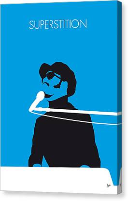 No039 My Stevie Wonder Minimal Music Poster Canvas Print by Chungkong Art