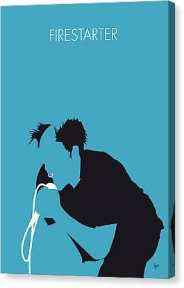 No045 My The Prodigy Minimal Music Poster Canvas Print by Chungkong Art