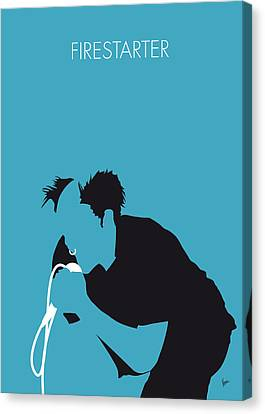No045 My The Prodigy Minimal Music Poster Canvas Print by Chungkong Art