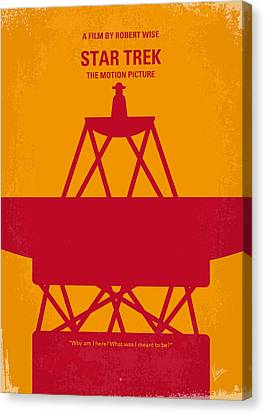 No081 My Star Trek 1 Minimal Movie Poster Canvas Print by Chungkong Art