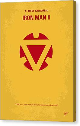 No113 My Iron Man Minimal Movie Posterno113-2 My Iron Man 2 Minimal Movie Poster Canvas Print by Chungkong Art