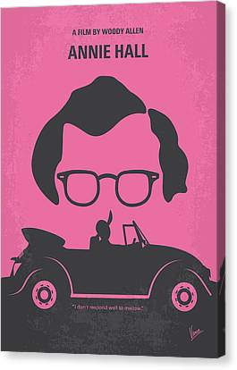 No147 My Annie Hall Minimal Movie Poster Canvas Print by Chungkong Art