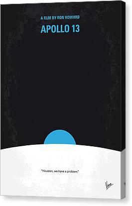 No151 My Apollo 13 Minimal Movie Poster Canvas Print by Chungkong Art