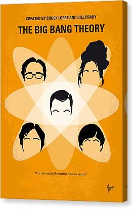 No196 My The Big Bang Theory Minimal Poster Canvas Print by Chungkong Art
