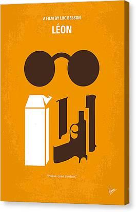 No239 My Leon Minimal Movie Poster Canvas Print by Chungkong Art