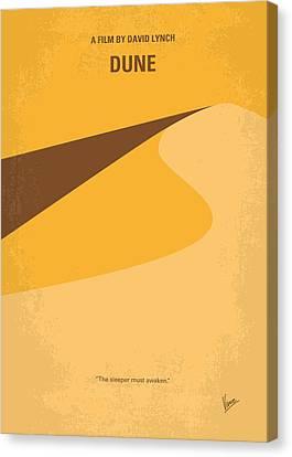 No251 My Dune Minimal Movie Poster Canvas Print by Chungkong Art