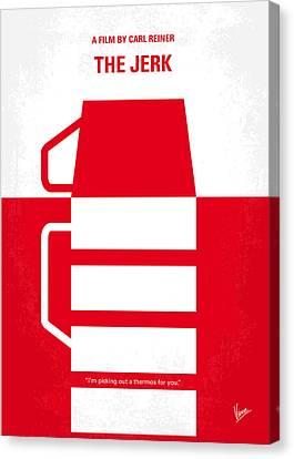 No350 My The Jerk Minimal Movie Poster Canvas Print by Chungkong Art