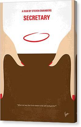 No371 My Secretary Minimal Movie Poster Canvas Print by Chungkong Art