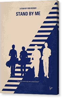 No429 My Stand By Me Minimal Movie Poster Canvas Print by Chungkong Art