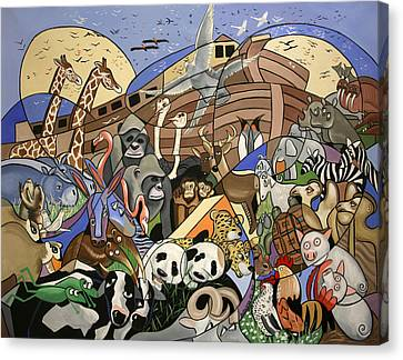 Noahs Ark Canvas Print by Anthony Falbo