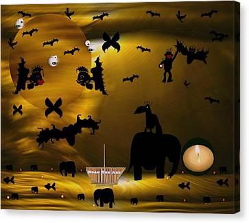Noak The Ark Canvas Print by Pepita Selles