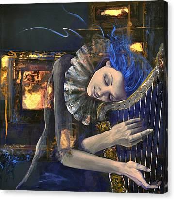 Nocturne Canvas Print by Dorina  Costras