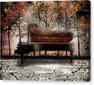Nocturne  Canvas Print by Gary Bodnar