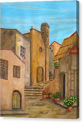 Nola 2 Canvas Print by Pamela Allegretto