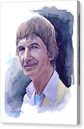 Norman Mclaren Canvas Print by David Lloyd Glover