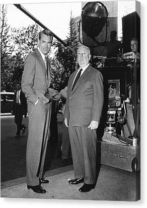 North By Northwest, From Left Cary Canvas Print by Everett