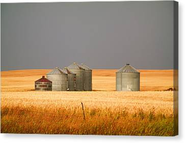 North Dakota Landscape Canvas Print by Jeff Swan