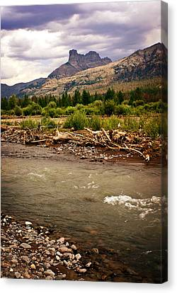 North Of Dubois 2 Canvas Print by Marty Koch