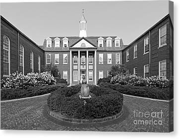 North Park College Nyvall Hall Canvas Print by University Icons