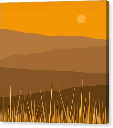 North Canvas Print by Val Arie