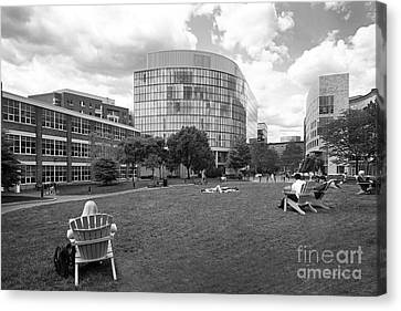 Northeastern University Behrakis Health Sciences Center Canvas Print by University Icons