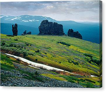 Northen Summer Landscape Canvas Print by Vladimir Kholostykh