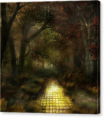 Northern Oz The Woods Canvas Print by Vjkelly Artwork