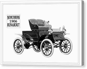 Northern Runabout 1906. Canvas Print by Unknown Photographer