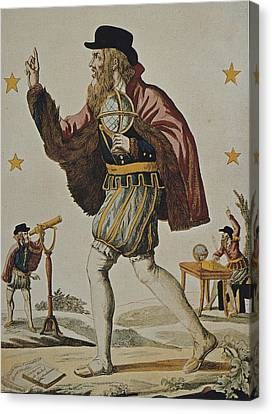 Nostradamus, Michel De Notre Dame Canvas Print by Everett