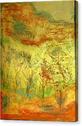 Not Forgotten Canvas Print by Anne-Elizabeth Whiteway
