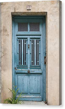 Not Just Another French Door Canvas Print by Georgia Fowler