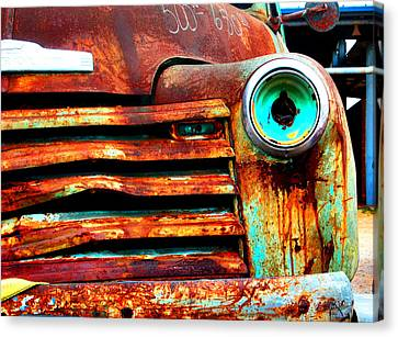 Not Quite Road Ready Canvas Print by Toni Hopper