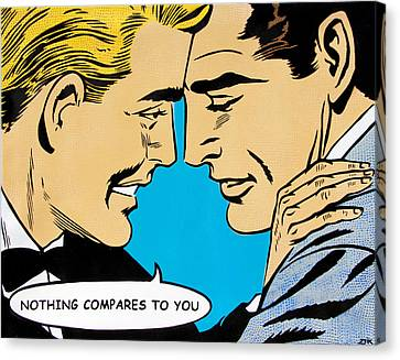 Nothing Compares To You Canvas Print by Bobby Zeik