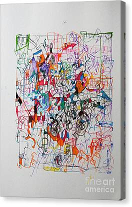 Nothing Left But Prayer Canvas Print by David Baruch Wolk
