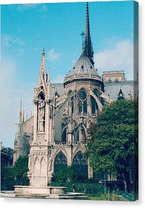 Notre Dame Of Paris IIi Canvas Print by Marcio Faustino