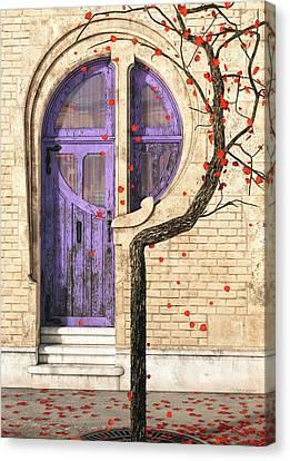 Nouveau Canvas Print by Cynthia Decker