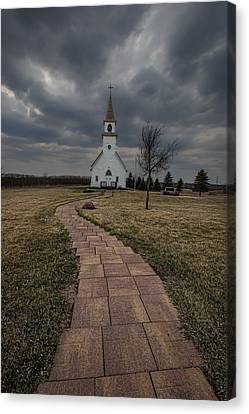 November Rain Canvas Print by Aaron J Groen