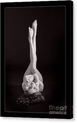 Nude Legs In The Air 1157.01 Canvas Print by Kendree Miller