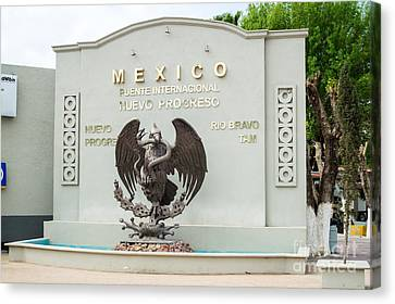 Nuevo Progreso Mexico Canvas Print by Imagery by Charly