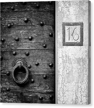 Number 16 Canvas Print by Dave Bowman