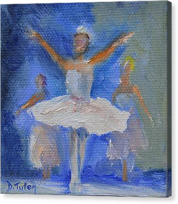 Nutcracker Ballet Canvas Print by Donna Tuten