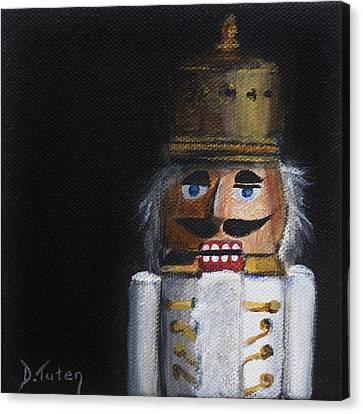 Nutcracker I Canvas Print by Donna Tuten