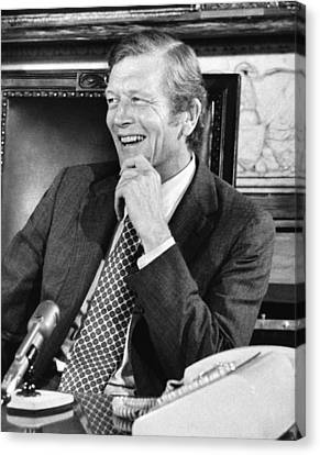 Ny Mayor John Lindsay Canvas Print by Underwood Archives