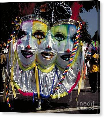 West Indian Day Parade Brooklyn Ny Canvas Print by Mark Gilman