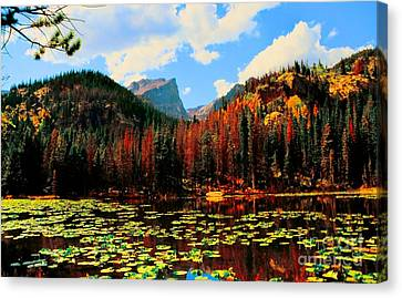 Nymph Lake Canvas Print by Kathleen Struckle
