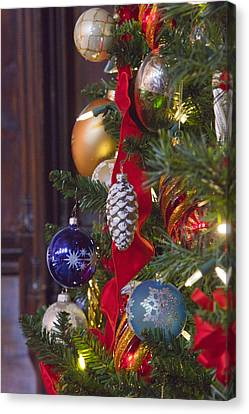 O Christmas Tree Canvas Print by Art Block Collections