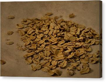 Oatmeal For Breakfast Canvas Print by Dan Sproul