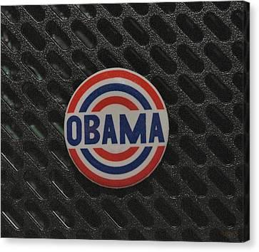 Obama Canvas Print by Rob Hans