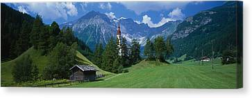 Oberndorf Tirol Austria Canvas Print by Panoramic Images